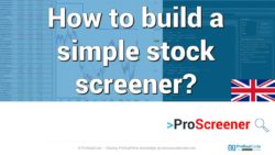 How to build a simple stock screener?