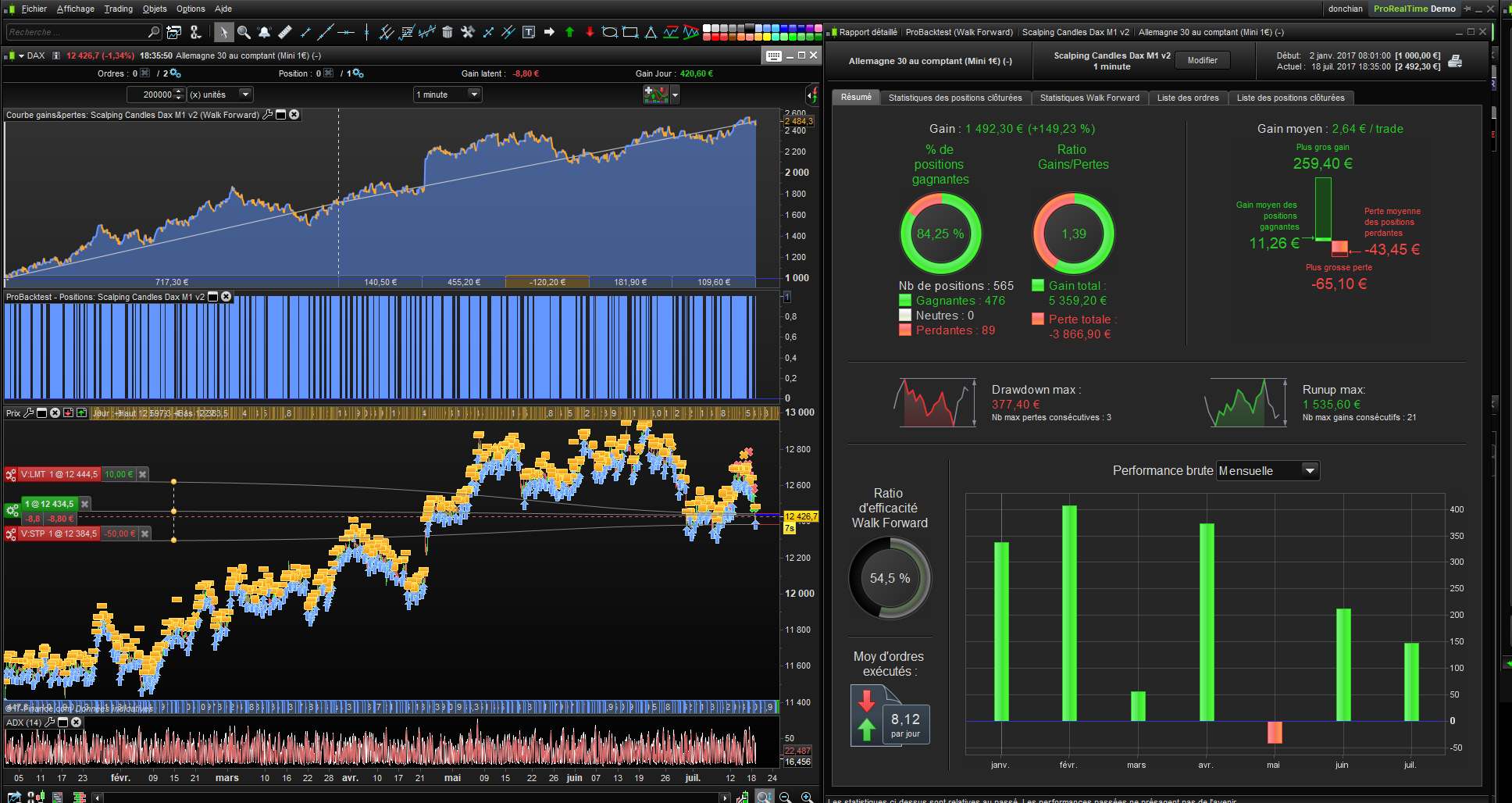 1 min GBP/USD Scalping with EMA and MACD