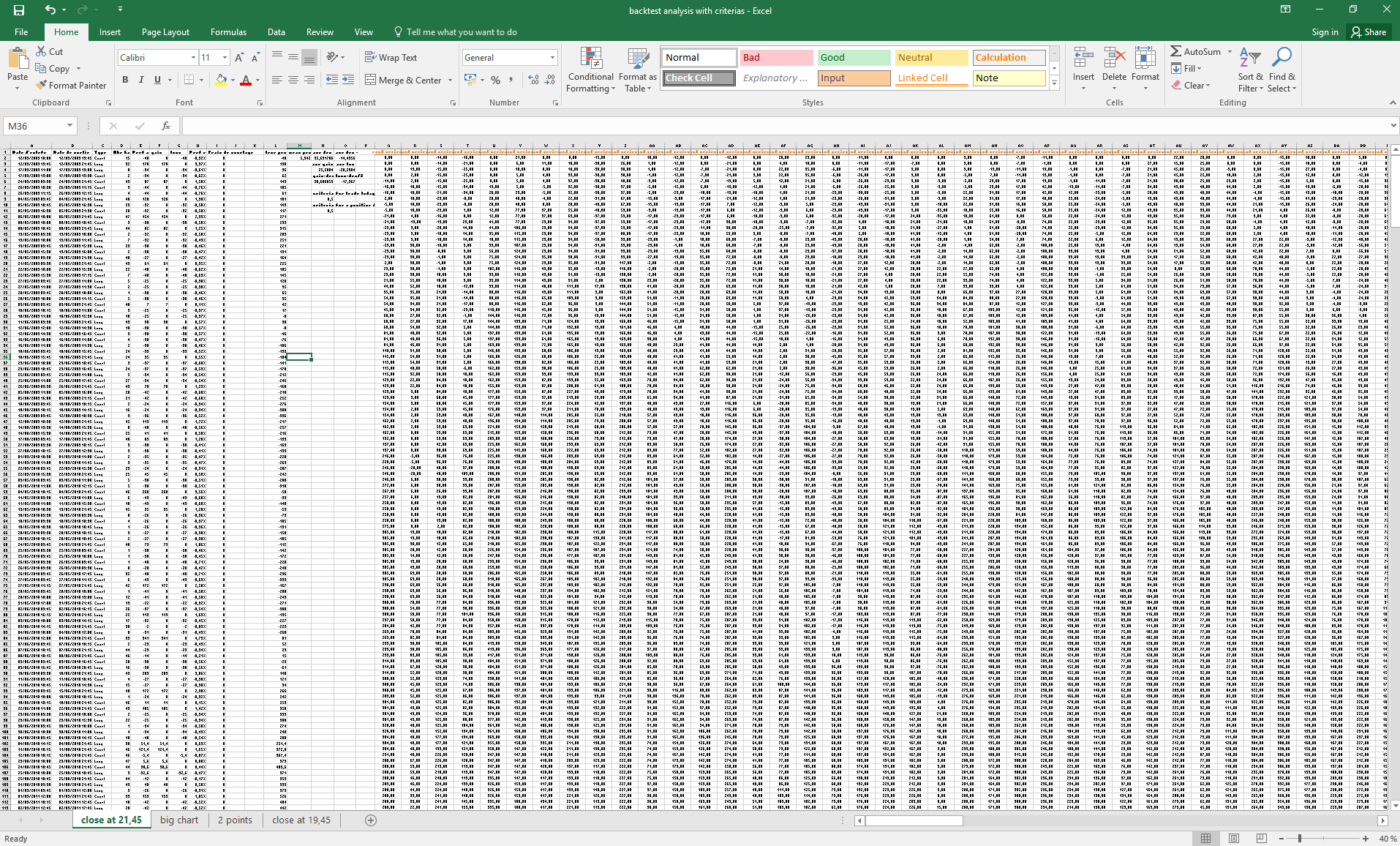 Prorealcode all posts excel spreadsheet for trading analysis nvjuhfo Choice Image